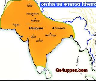 Ashoka empire map