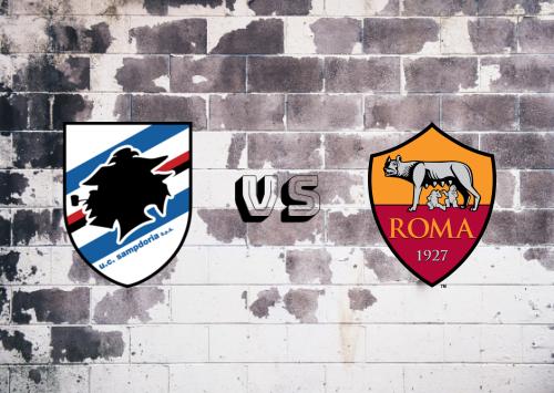 Sampdoria vs Roma  Resumen