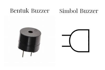 Bentuk dan simbol buzzer elektronika