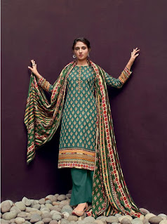 Shahnaz Arts Gulshan Vol 6 Pashmina Suits Collection
