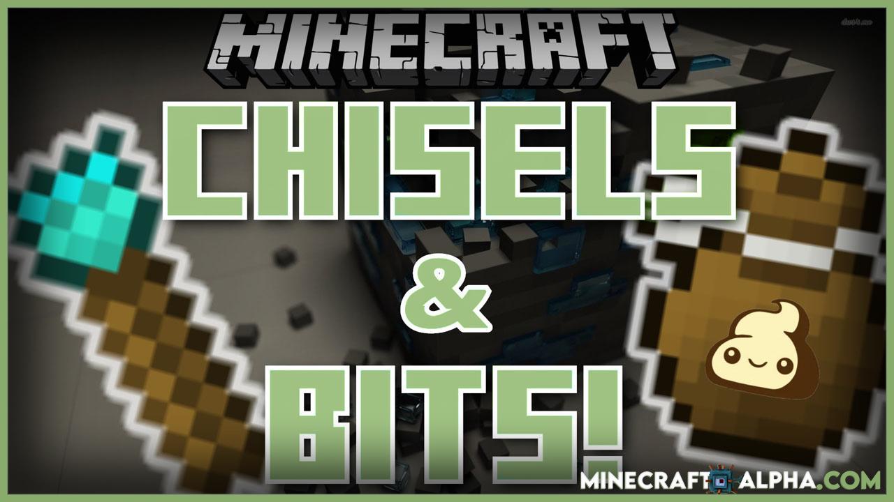 Chisels & Bits Mod 1.17.1 (Building Tools)