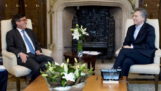 Macri recibió al titular del Banco Interamericano de Desarrollo