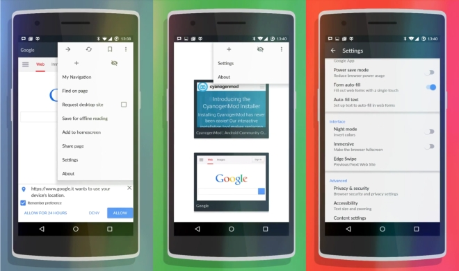 Gello: Cyanogen's Customizable Web Browser for Android