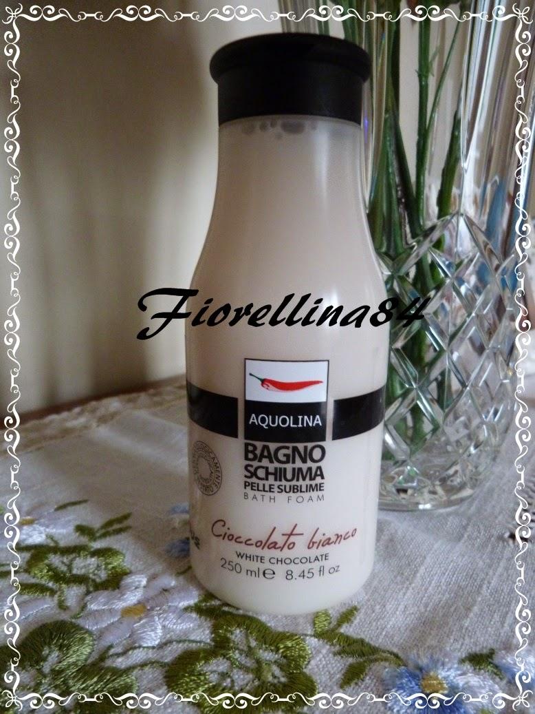 Fiorellina84 latte corpo e bagno schiuma al cioccolato - Bagno di cioccolato ...