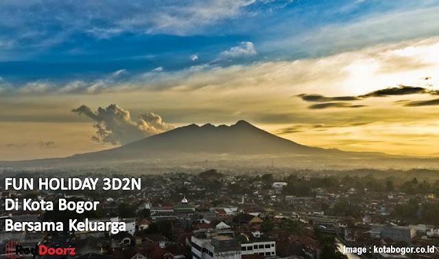 Kota Bogor Diapit Gunung Salak - Blog Mas Hendra
