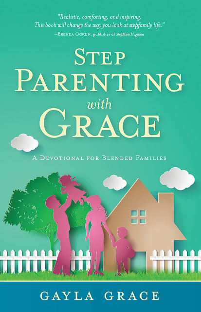 Book Cover for Step Parenting with Grace:  A Devotional for Blended Families