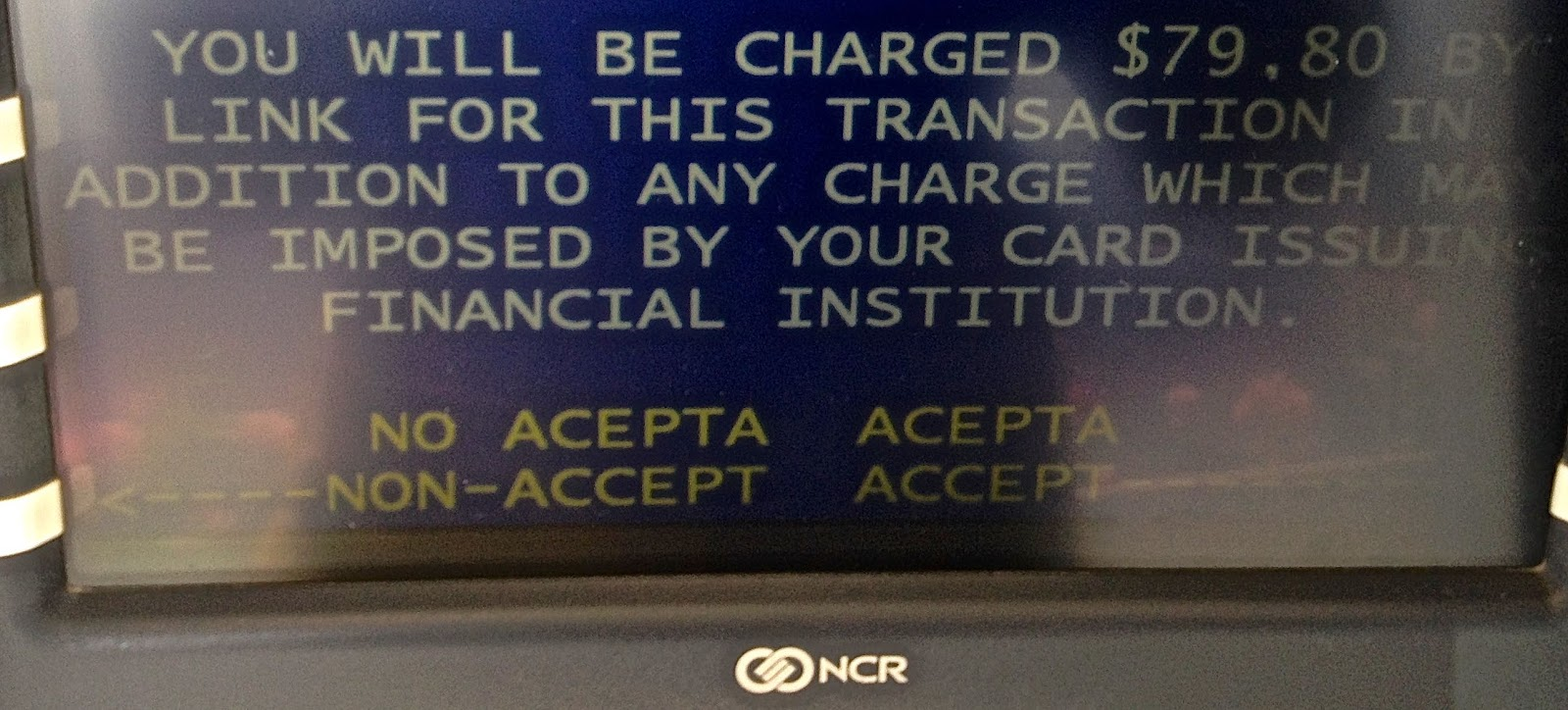 Southern Cone Travel: Avoiding Argentine ATMs Advisable - Still