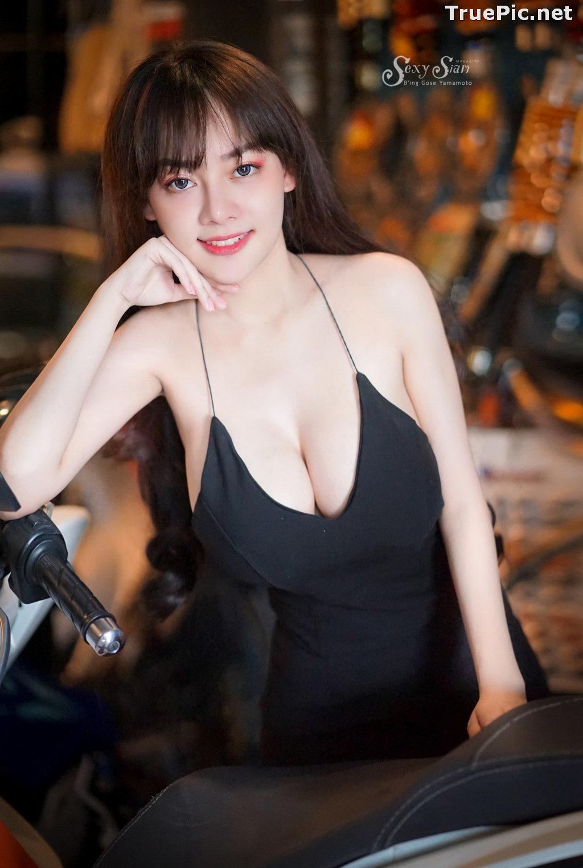 Image Thailand Model - จุ๊ปเปอร์ จุ๊ป - Sexy Black Car Girl - TruePic.net - Picture-4