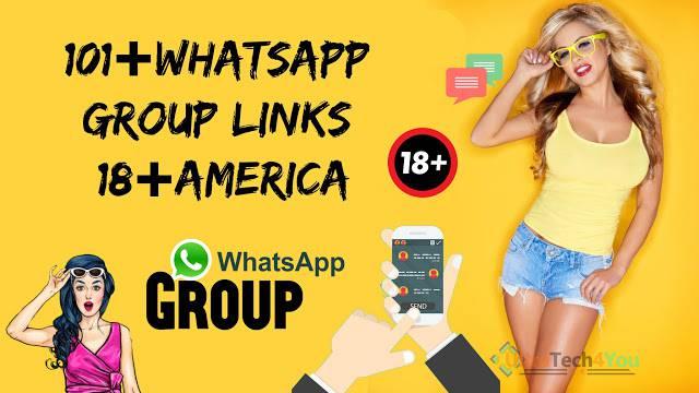Active 101+ WhatsApp Group Links 18 America