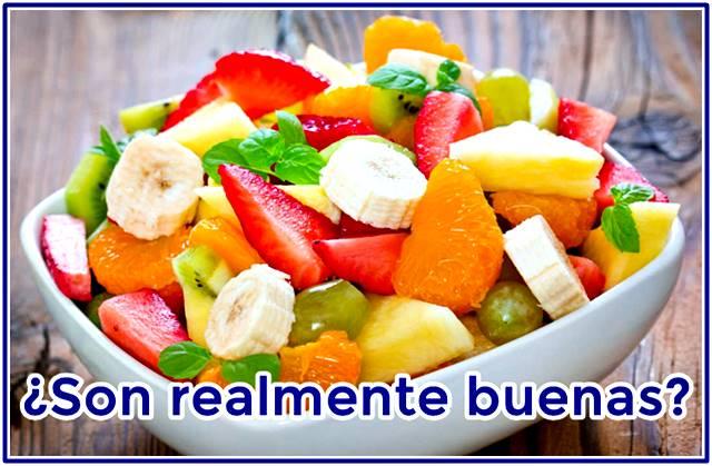 ¿Son realmente buenas para la salud las ensaladas de frutas?