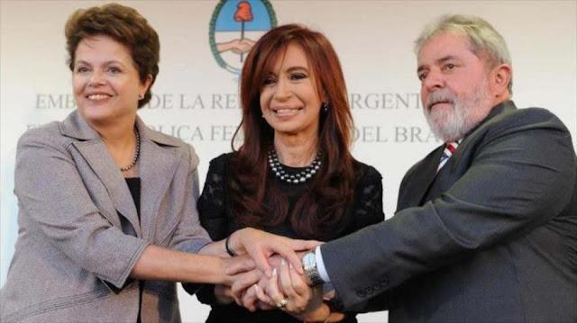 Líderes latinoamericanos se solidarizan con Lula tras ataque