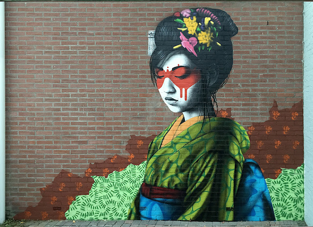 Our buddy Fin DAC is currently in Netherlands where he just wrapped up this brand new piece somewhere on the streets of Breda.