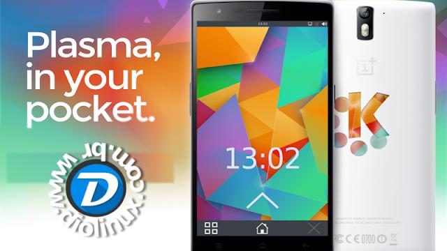 KDE Plasma Mobile Demonstração
