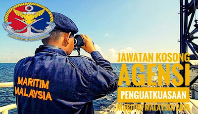 Jawatan Kosong Agensi Penguatkuasaan Maritim Malaysia 2018