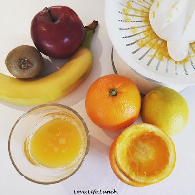 Cernia all'arancia e il mio carico di vitamina C