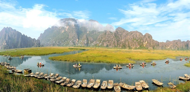 Van Long lagoon wins the title of the first Green List in Vietnam and Southeast Asia
