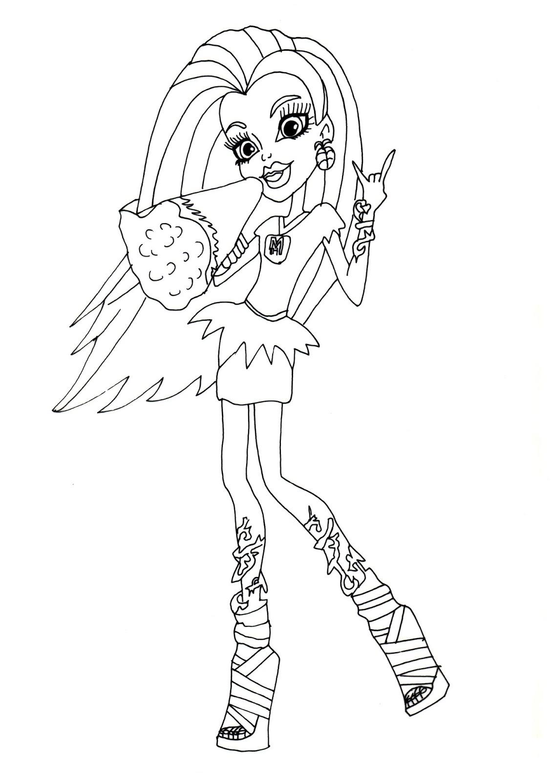Monster High Venus Mcflytrap Printable