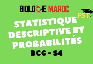 Statistique descriptive et Probabilités