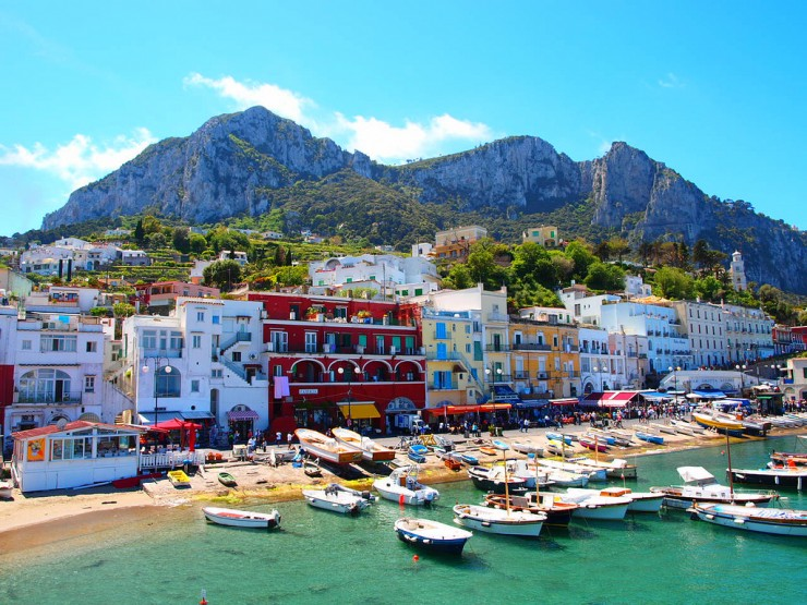 Top 10 Natural Wonders in Italy - Capri