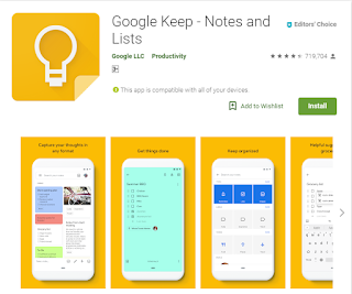 Aplikasi Note atau pencatat harian Yang Cocok Buat Para User Yang Suka Gonta Ganti Rom