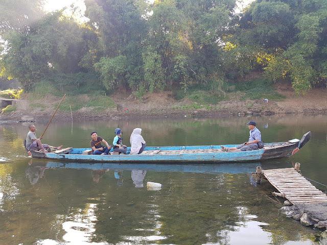 Mendayung Rupiah di Bengawan Madiun