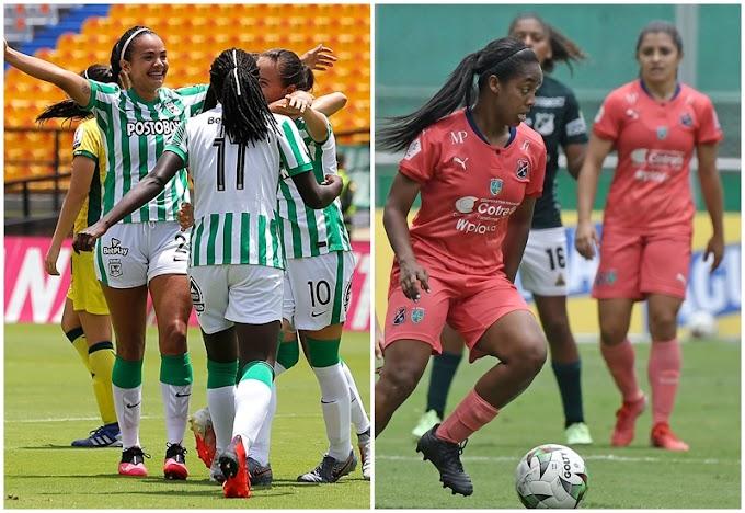 Clasificó Atlético Nacional, eliminado Independiente Medellín: Infartante definición en la Liga Femenina 2021