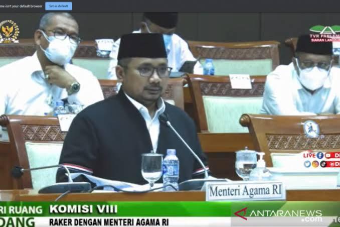 DPR Cecar Yaqut, Penyampaian Pembatalan Ibadah Haji Telan Rp21 Miliar!