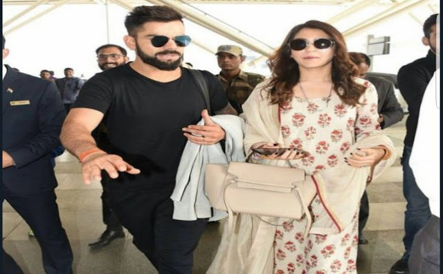 Virushka at mumbai airport