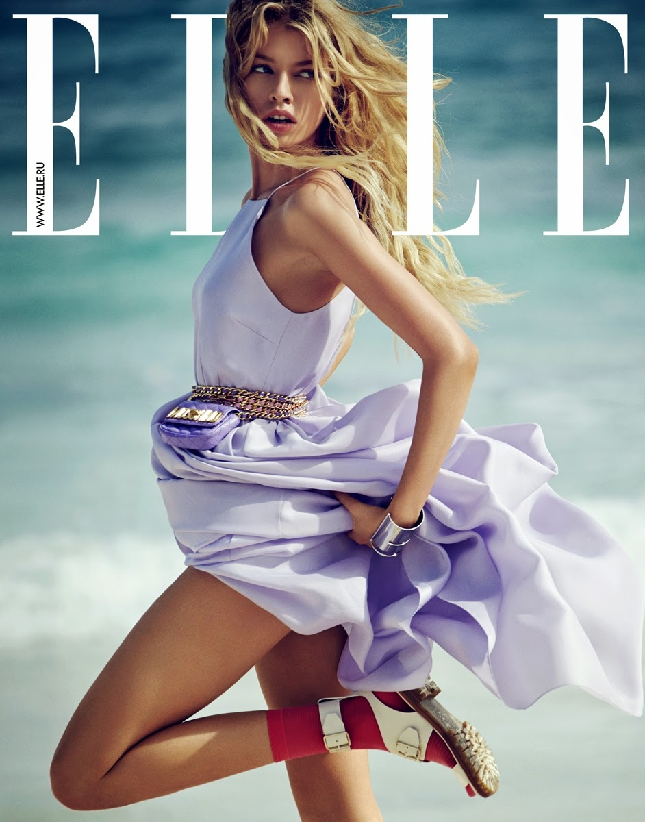 "Language In 45 And 47 Stella Street: Duchess Dior: ""One Wave"" Stella Maxwell For ELLE Russia"