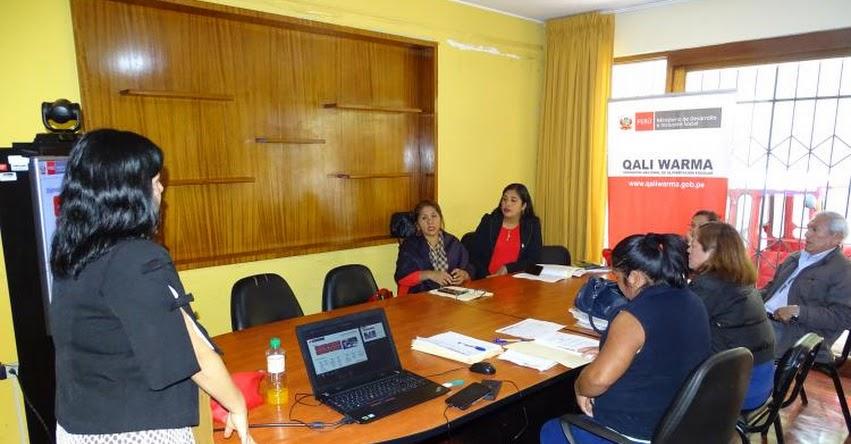 QALI WARMA: Comités de Compras se capacitan para llevar adelante Proceso de Compras 2020 con transparencia digital y cero papel en la región Ica - www.qaliwarma.gob.pe