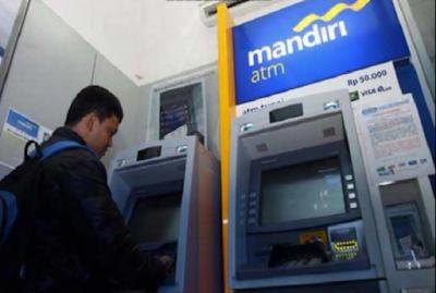 Cek Mutasi Bank MANDIRI Di ATM 1