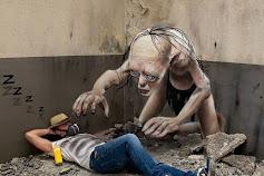 Keren! Graffiti Realistis Seniman Perancis Yang Tampak Nyata