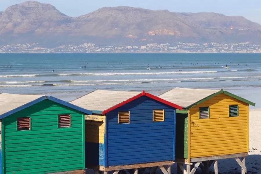 Muizenberg Beach Cape Town, South Africa