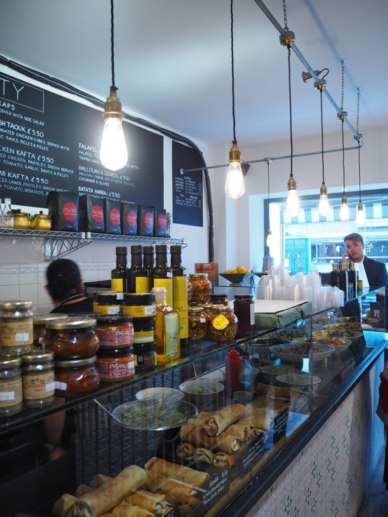 plenty london cafe review