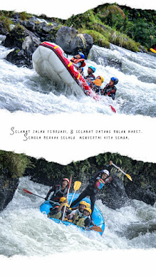 Segernya Arus Sungai Comal Bersama Rainbow Rafting