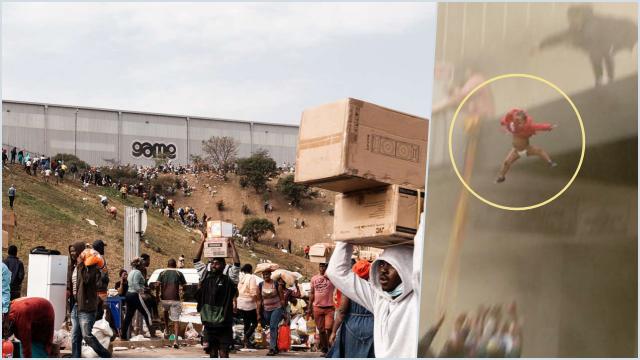 200 Mal Dijarah di Afrika Selatan, 72 Orang Tewas, Ada Bayi Dilempar dari Gedung