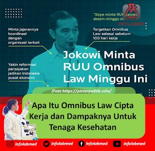 Apa Itu Omnibus Law Cipta Kerja dan Dampaknya Untuk Tenaga Kesehatan