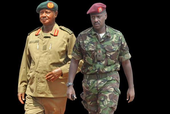 Uganda's president appoints first son as head of special forces