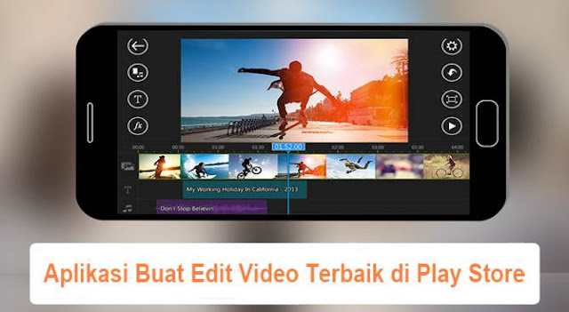 Aplikasi Buat Edit Video Terbaik di Play Store