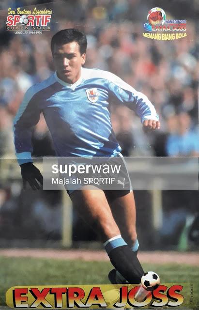 POSTER RUBEN SOSA (URUGUAY 1984-1996)