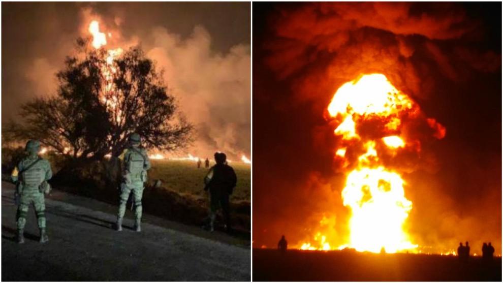 A 5 meses de la tragedia que dejo 137 muertos, Huachicoleros vuelve a perforan ducto en Tlahuelilpan, Hidalgo