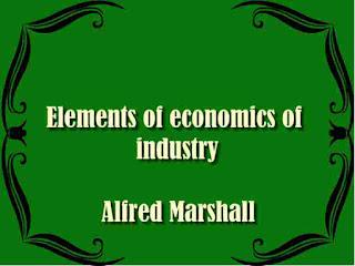 Elements of the economics