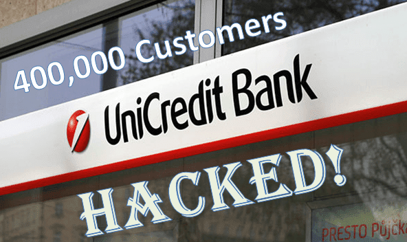 UniCredit Bank Gets Hacked And 400,000 Italian Customers Affected