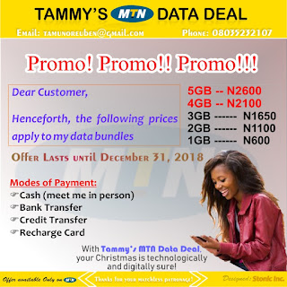 December 2018: Cheapest Data Plans for MTN, Airtel, Glo, Ntel and 9mobile Users