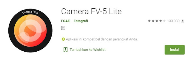 Aplikasi Kamera Autofocus Android