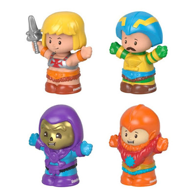 Masters of the Universe Little People Collector Figure Set by Fisher-Price