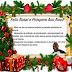 Mensagem de Natal do Secretário de Educação Antônio Júnior aos magalhenses