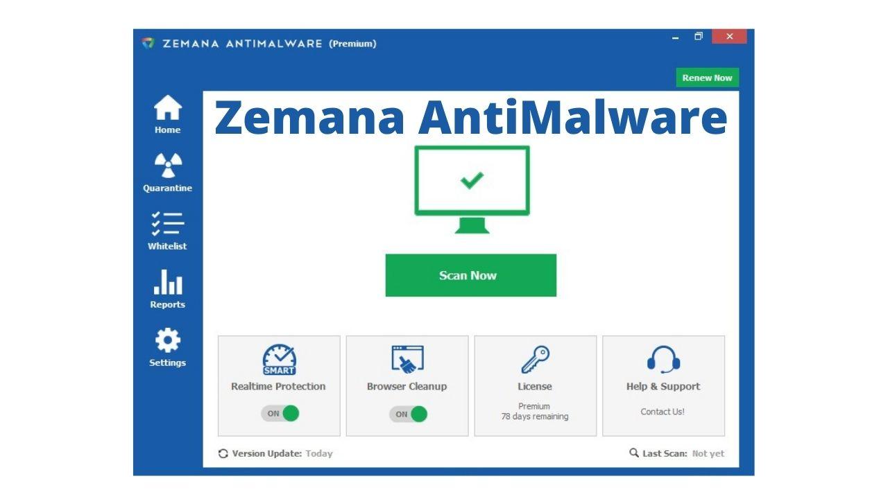 Zemana AntiMalware Download Latest for Windows 10, 8, 7