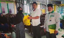 Baznas Sidrap Salurkan Bantuan Untuk Pedagang di Kantin MTs