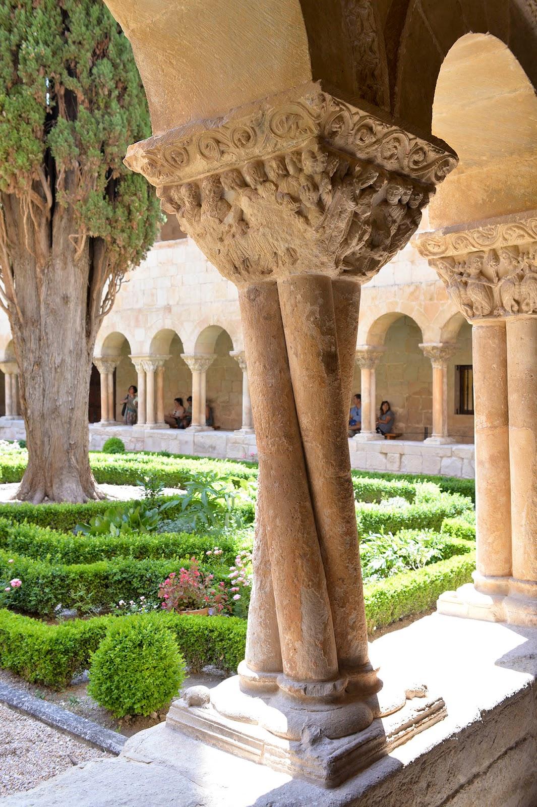 silos monastery santo domingo burgos spain castile leon cloister